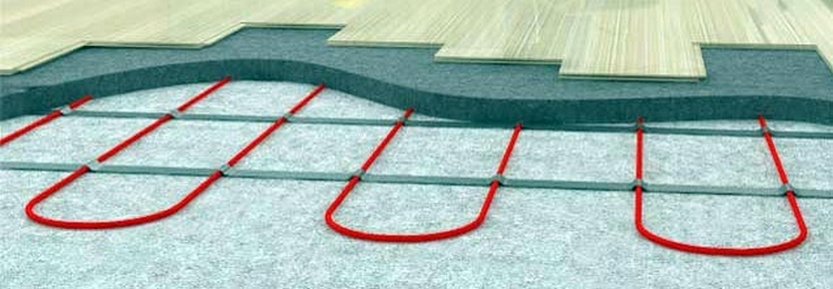 кабельный пол