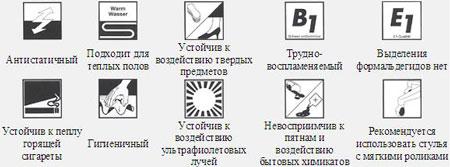 знаки подложки
