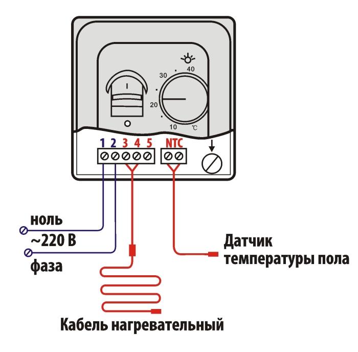 схема термо