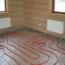 Монтажная схемы для укладки водяного теплого пола в доме