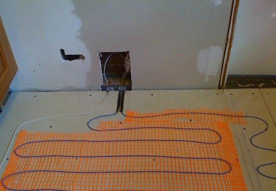 кабельный пол фото