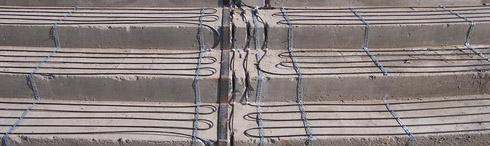 кабель по бетону
