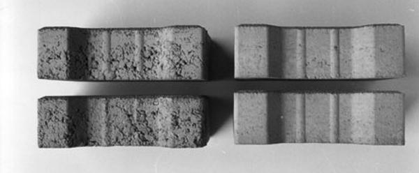 Пример бетона с пластификатором