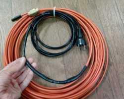 Самостоятельное подключение нагревающего кабеля