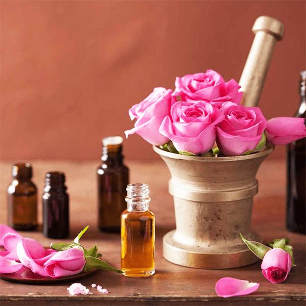 oil-rose