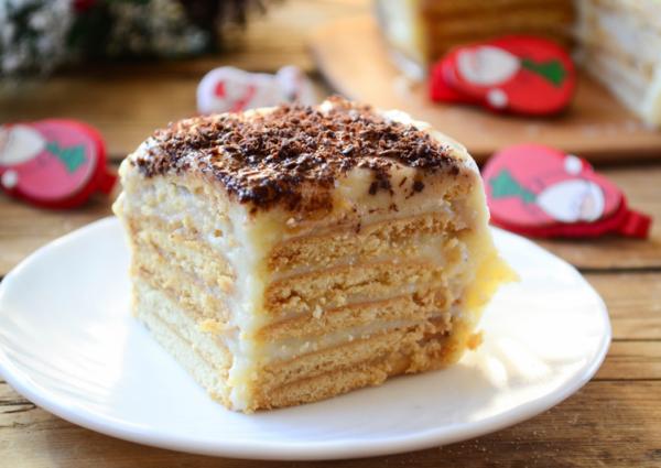Картинки по запросу Вкуснейший тортик из печенья и сгущенки