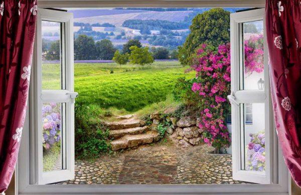 fotooboi-504-443-okno-s-vidom-na-prirodu-zakazposterov-ru z