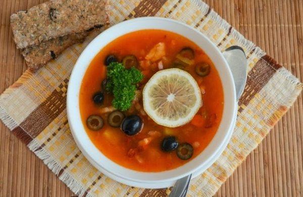 sup solyanka