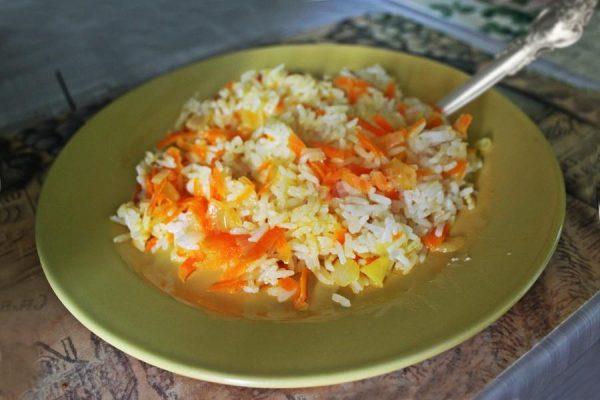 Картинки по запросу Рис Рецепт с морковью