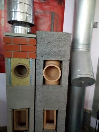керамический дымоход в Екатеринбурге 2