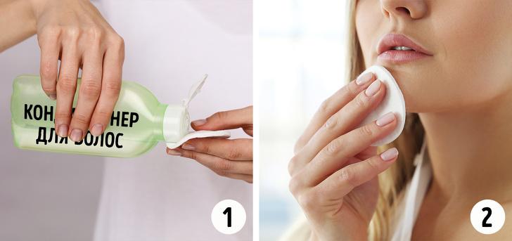 18неожиданных способов использования кондиционера для волос, которые сэкономят ваши деньги