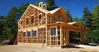 Основные преимущества строительства домов по каркасной технологии