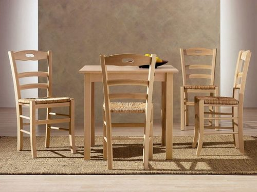 Особенности натуральных деревянных стульев в интерьере