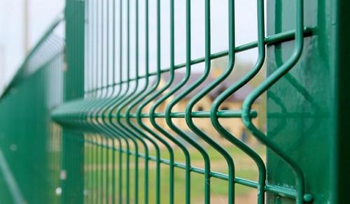 Забор промышленного назначения
